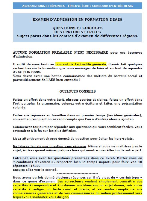 Page 1 concours entree